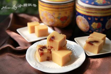 七夕来了自制蜜枣豌豆糕享健康甜蜜